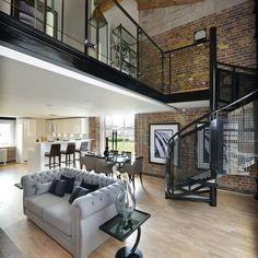 Stunning Industrielle Stil Wohnung Gallery - House Design Ideas ...