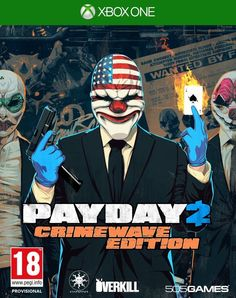 Payday 2: Crimewave Edition - Xbox One - PREORDER (12.06.15) PAL UK XB1