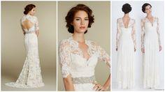 suknie ślubne z długim rękawem  #ślub #wesele