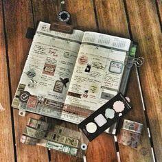 Week 30 #midoritravelersnotebook #travelersnotebook #travelersnote #notebook #mtn #planner #plannerpages #plannerph #agenda #diary #journal #stationery #washitape