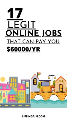 Looking for online jobs to make money from home? Check out the best legit online jobs that you can work without experience.  If you're looking for legitimate online jobs, here is a list of 25 online jobs to work from home. 25 legit online jobs that can make you $60000 per year. #workfromhome #onlinejobs #makemoneyonline #legitjobsfromhome #stayathomejobs