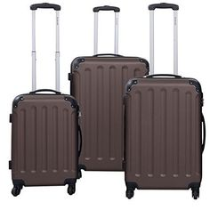 """(1x) —20"""" trolley case. (1x) 24"""" trolley case. (1x) —28"""" trolley case. Are you ready to travel?. This awesome,Travel Luggage Set is perfect for traveling. The spacious main compartment and zippered pockets keep your travel essentials, your small valuables well organized. 