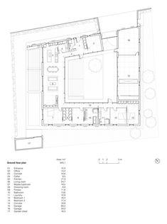 Gallery - Villa V / Henner + Roland Architectes - 14 #residential #plan #layout