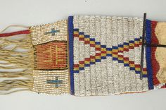 Early Cheyenne Tobacco Bag.