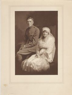 Max Weston Thornburg and Leila Baldwin Berry, Virginia, 1918
