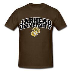 Jarhead U T-Shirt | Spreadshirt | ID: 13222014