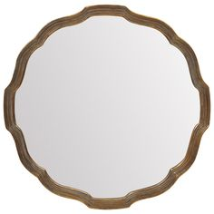 Lyonne Mirror 84cm | Freedom Furniture and Homewares.  This is a gorgeous feminine mirror.  Very ib trend in copper at the moment.  Would look great in any room, Vintage Colletor or Tribal Pioneer.