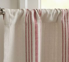 Kitchen Cafe Curtains from pottery barn. I'll be making my own from the Tekla dish towels from Ikea though
