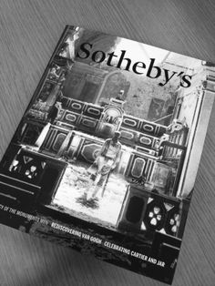 Our office is enjoying the new Sotheby's magazine!