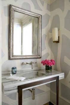 powder & bathrooms - Collins Interiors