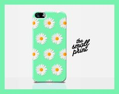New DAISY iphone 6 case daisy iPhone 6 cover by TheSmallPrintCases