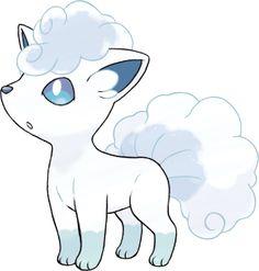 Pokémon Sun & Moon - Alola Form Pokémon Alolan Vulpix Ice-type