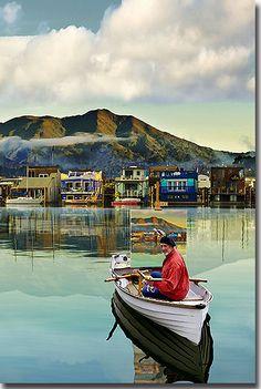 Sausalito, Houseboats and art