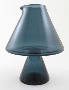 Carafe | Designlasi.com Carafe, Glass Design, Design Art, Decorative Bells, Finland, Modern Contemporary, Retro Vintage, Objects, Ceramics