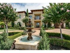 A Mediterranean villa in a wonderful gated community! 6432 Sudbury Road boasts 6 beds/6.2 baths and over 12,000 sf. Did we mention it has a media room, wine room, tennis court, putting green, batting cage AND a koi pond?  http://www.alliebeth.com/sales/detail/420-l-81688-f1407152131700324/6432-sudbury-road-plano-tx-75024 #aba #alliebeth #luxuryrealestate #realestate