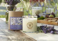 """Das Duftwachsglas Brighter World von PartyLite! Mit dem Duft """"Lavndel & Verbene"""" holen Sie sich die Provence zu Ihnen ins Wohnzimmer."""
