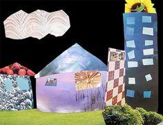 Magazine Collage Art Lesson Idea