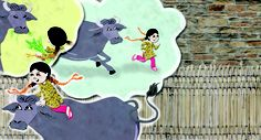A page from Rani and Bholi