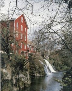 Historic Clifton Mill in Clifton, Ohio. Discover more at www.discoveramerica.com.