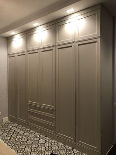 Bedroom Design Loft Closet 35 Ideas For 2019 Loft Closet, Bedroom Closet Doors, Bedroom Closet Storage, Hallway Closet, Wardrobe Design Bedroom, Modern Bedroom Design, Wardrobe Closet, Bedroom Loft, Loft Storage