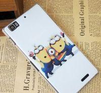happy spirit  Hard PC Plastic Phone Case FOR Lenovo K900 Shell Back Cover Mobile Phone Case