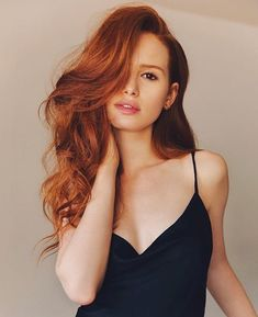And last, but absolutely NOT least is the red headed BOMBSHELL Cheryl Blossom AKA Madelaine Petsch! Enjoy this hot collection of Madelaine Petsch sexy pics! Girl Crushes, Cheryl Blossom Riverdale, Peinados Pin Up, Hair Flip, Redhead Girl, Auburn Hair, Red Hair Color, Hair Colors, Beautiful Redhead