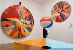 Damien Hirst Spin Paintings Tate 2012