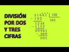 División por dos y tres cifras