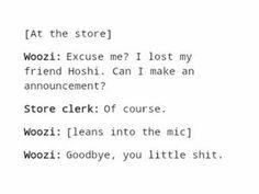 woozi, kpop, funny, meme, hoshi
