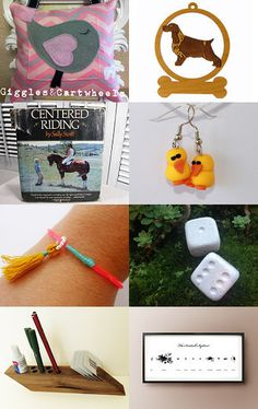 The quirky and the cute. by Sarah on Etsy--Pinned with TreasuryPin.com
