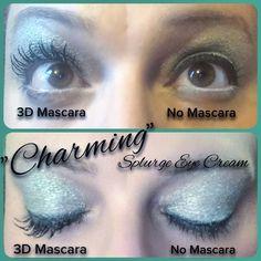Splurge Cream Shadow, 3d Fiber Lash Mascara, Eye Cream, Younique, Mint Green, Beauty Makeup, Lashes, Eyes, Eye Creams