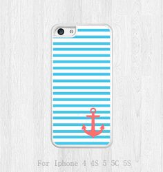 iphone 5c case, Anchor iphone 5c case, Navy Stripes, Floral iphone case, plastic / Rubber iphone covers skin case, Geometric, phone case