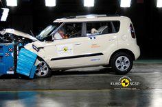 Kia Soul wins 5 star EuroNCAP crash test rating