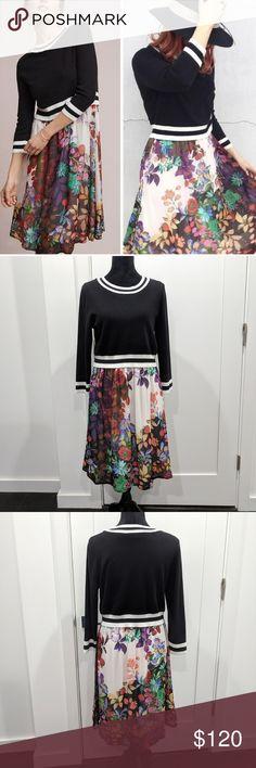 fe08a929591 Anthropologie Maeve Osceola Sweater Dress M P