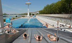 Lyon, la piscine
