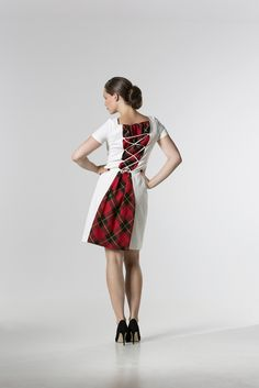 The @ the_daydreamer_ Tartan Panel Dress http://spencerclothing.com
