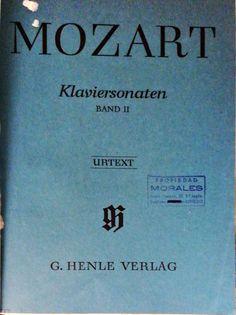 Mozart, W. Amadeus. Klaviersonaten Band II