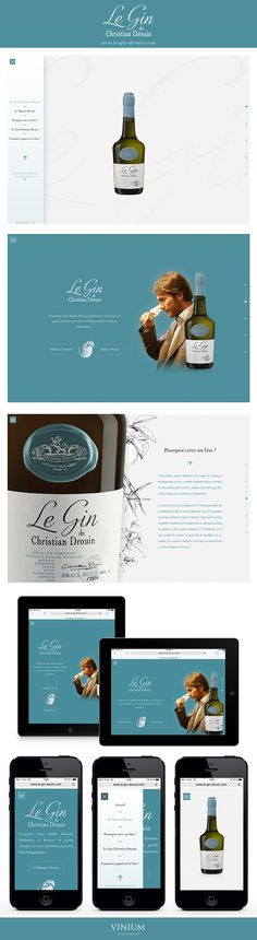 La Maison Christian Drouin, artisans distillateurs et éleveurs de grands… Le Gin, Calvados, Artisans, Web Design Inspiration, Aide, Creations, Cocktail, Internet, Marketing