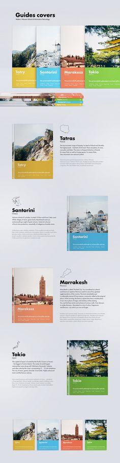 Guides Covers on Behance