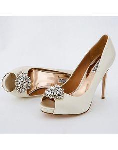 Perfect Details - Badgley Mischka Jeannie Wedding Shoes Badgley Mischka Jeannie Wedding Shoes - Shoes