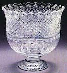 Waterford Crystal Footed Center Piece. If you like this signed by Master Cutter call 800-244-2941