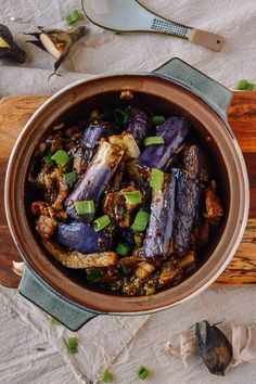 #Chinese #Eggplant #Casserole recipe by thewoksoflife.com
