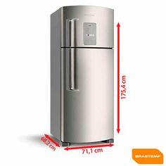 Imagem para Refrigerador 2 Portas Frost Free Smart Bar Brastemp BRM48NR a partir de Fast Shop