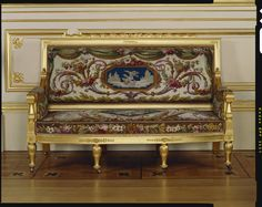 Sofa. Morel & Seddon (cabinet maker)  1828