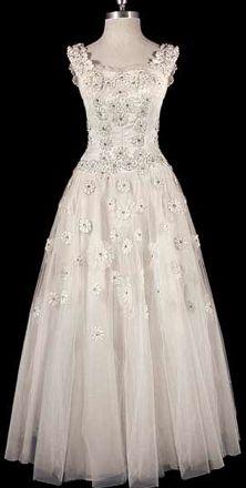 1935 Christian Dior wedding gown