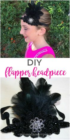 DIY flapper headpiec