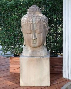 Buddha Art for Your Outdoor Living Space