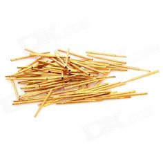 LSON Soldering Probe - Golden (100 PCS). Durable; High precision. Usage: electronics; Electronic testing gm, etc. Tags: #Electrical #Tools #Hand #Tools #Soldering #Supplies