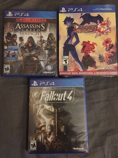 Ps4 games bundle: Fallout 4, Assassin's Creed Syndicate, & Disgaea 5 #Games #Fallout #Assassin #Disgaea #Ps4 #Playstaion #Playstation4