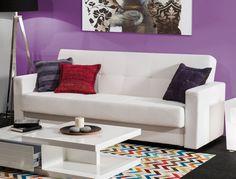 sofa blanco. salon moderno